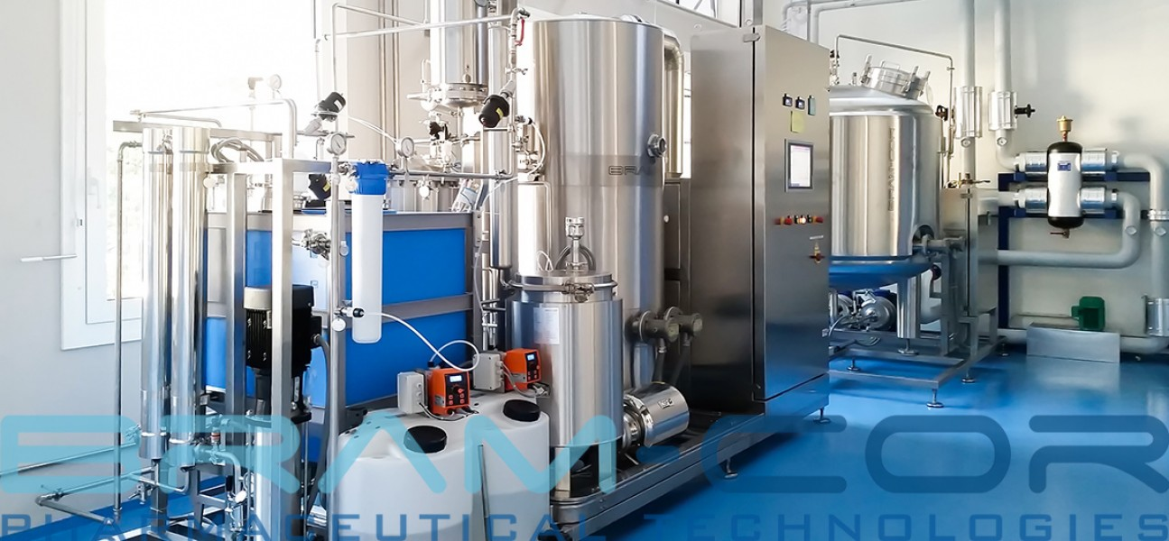Bram-Cor Pharmaceutical Equipment - Sterile Water for Injection plant