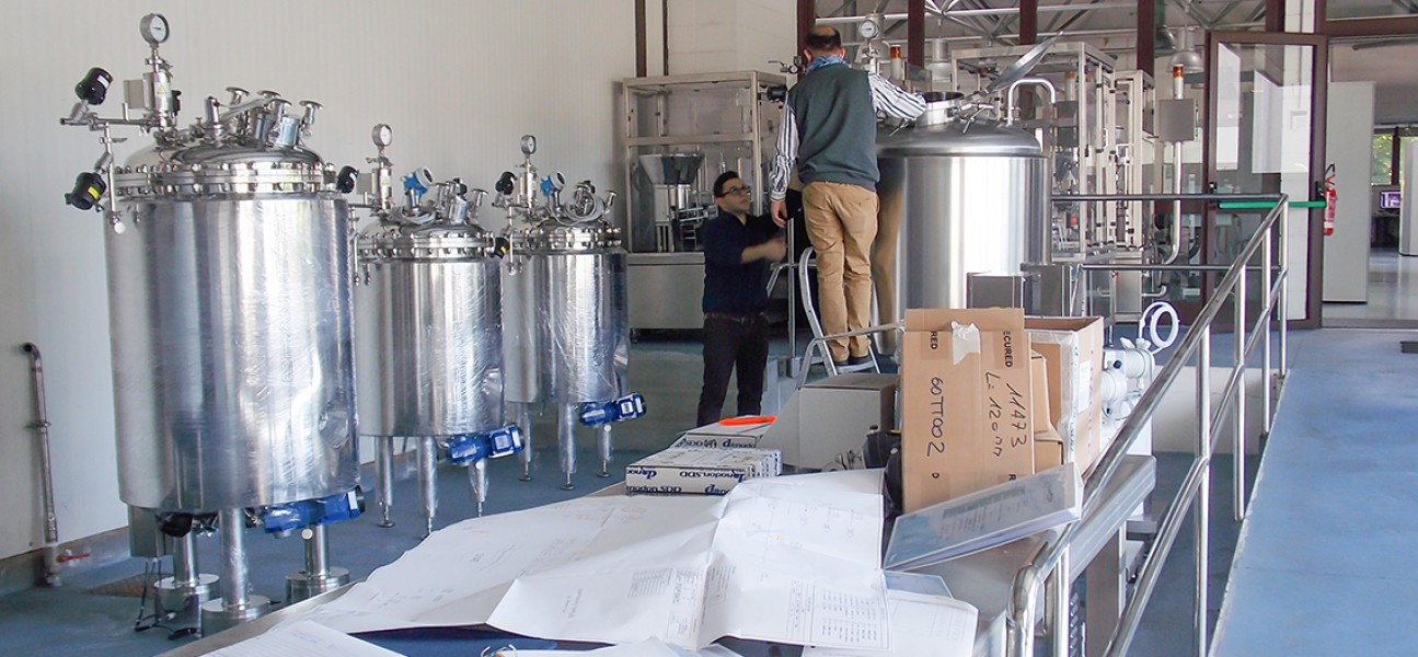 Bram-Cor Pharmaceutical Processing Systems - DISS bioreactors - Formulation and preparation - FAT