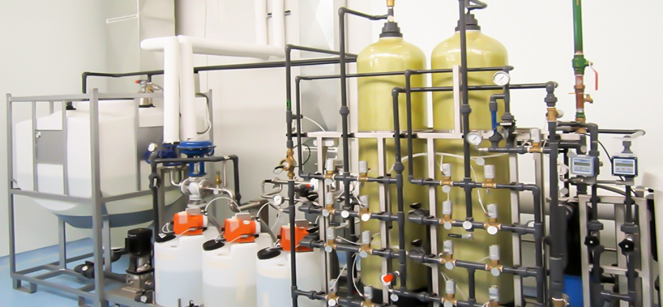 Bram-Cor Pharmaceutical Equipment - Water pretreatment system