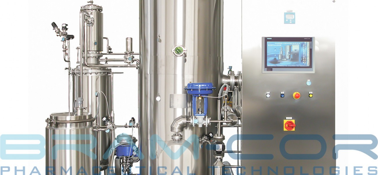 Bram-Cor Pharmaceutical Equipment - Vapor Compression Distiller