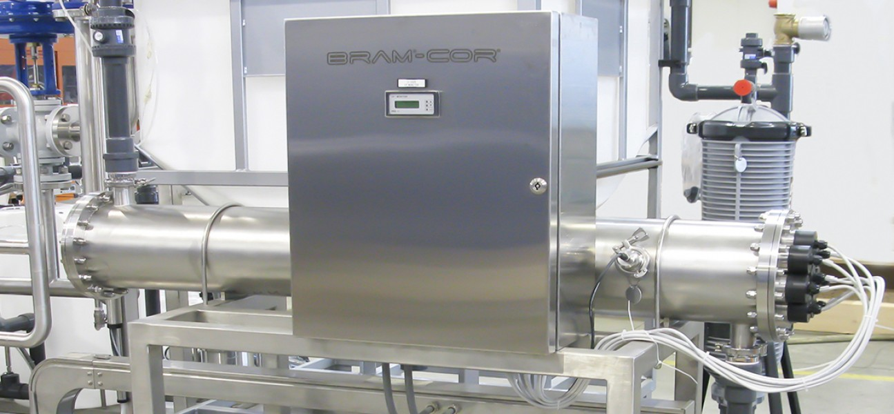 Bram-Cor Pharmaceutical Equipment - Water pretreatment system - UV lamps