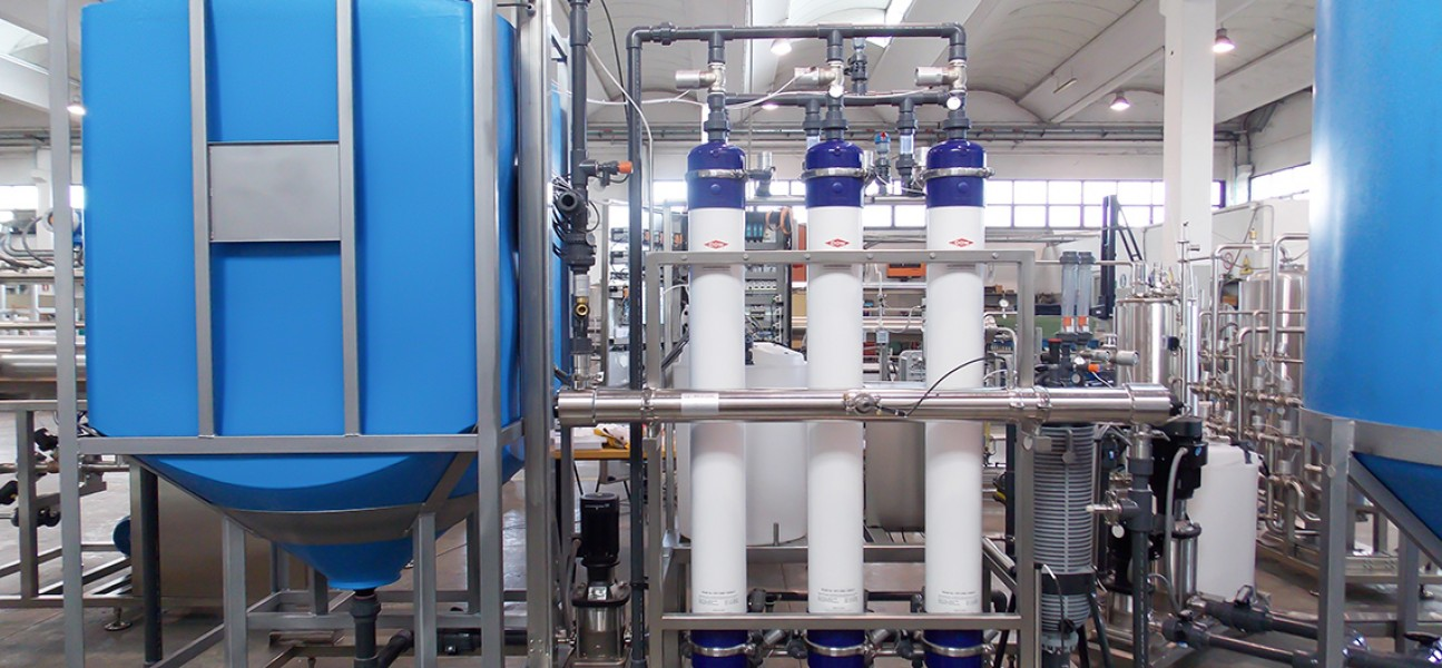 Bram-Cor Pharmaceutical Equipment - Water pretreatment systems