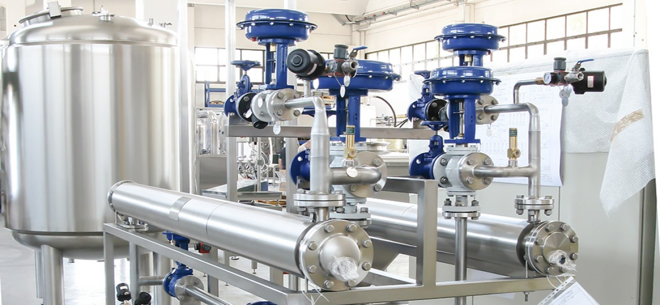 Bram-Cor Pharmaceutical Water Treatment Systems - DTS Exchanger