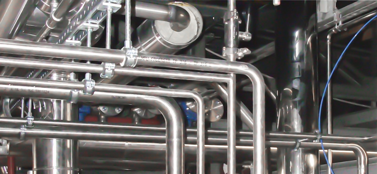 Bram-Cor Water Treatment System - Loop - Piping - Pharmaceutical Equipment