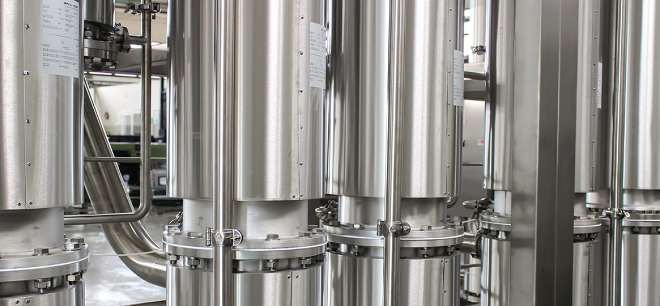 Bram-Cor Pharmaceutical Water Treatment - Multiple Effect Distillation systems