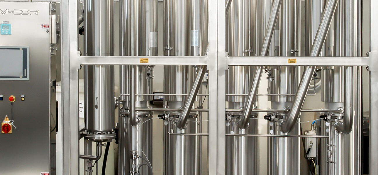 Bram-Cor Pharmaceutical Water Treatment Systems - Multi effect water still