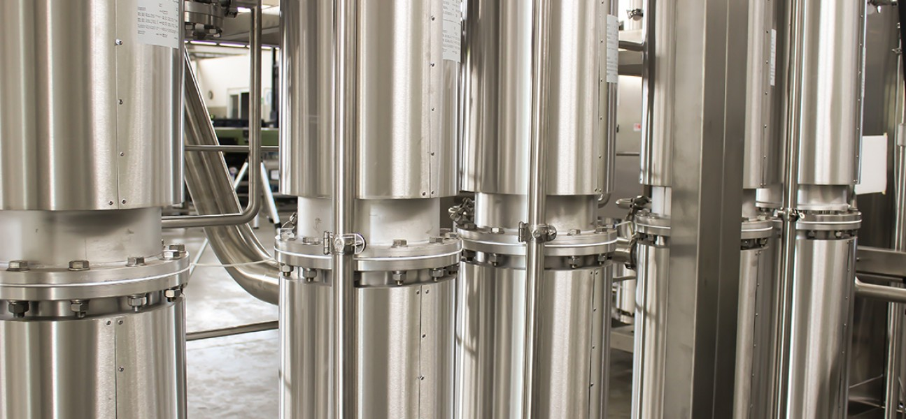 Bram-Cor Multiple Effect Distiller - Pharmaceutical water treatment system