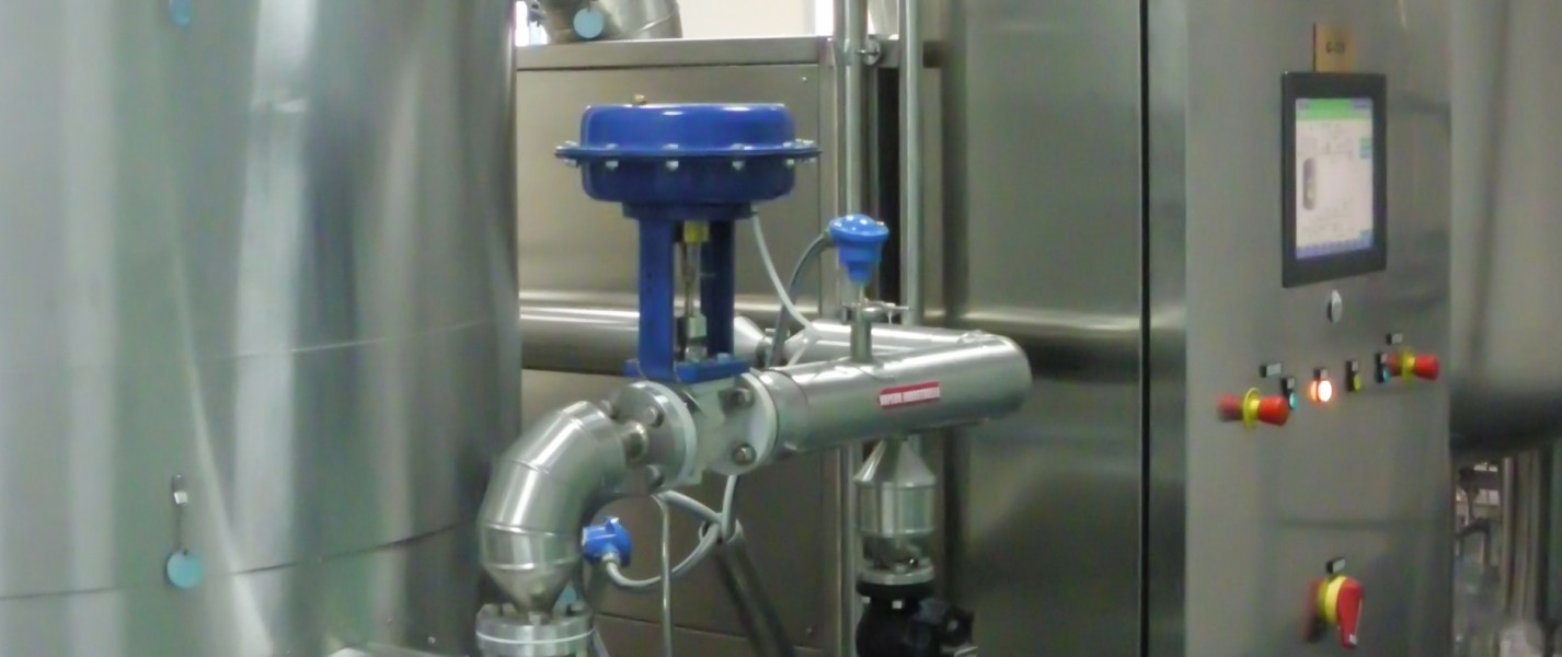 Bram-Cor Pharmaceutical Equipment - Vapor Compression Distiller - SCADA