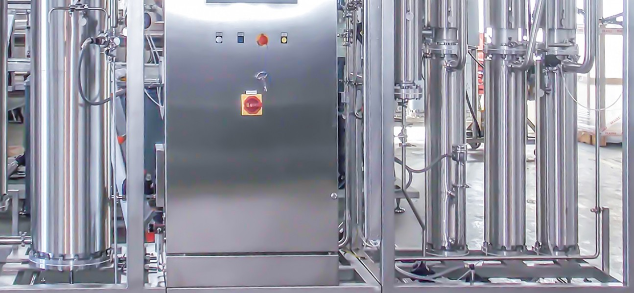Bram-Cor KOMB Pharmaceutical Equipment - Water treatment system - WFI + PS generator