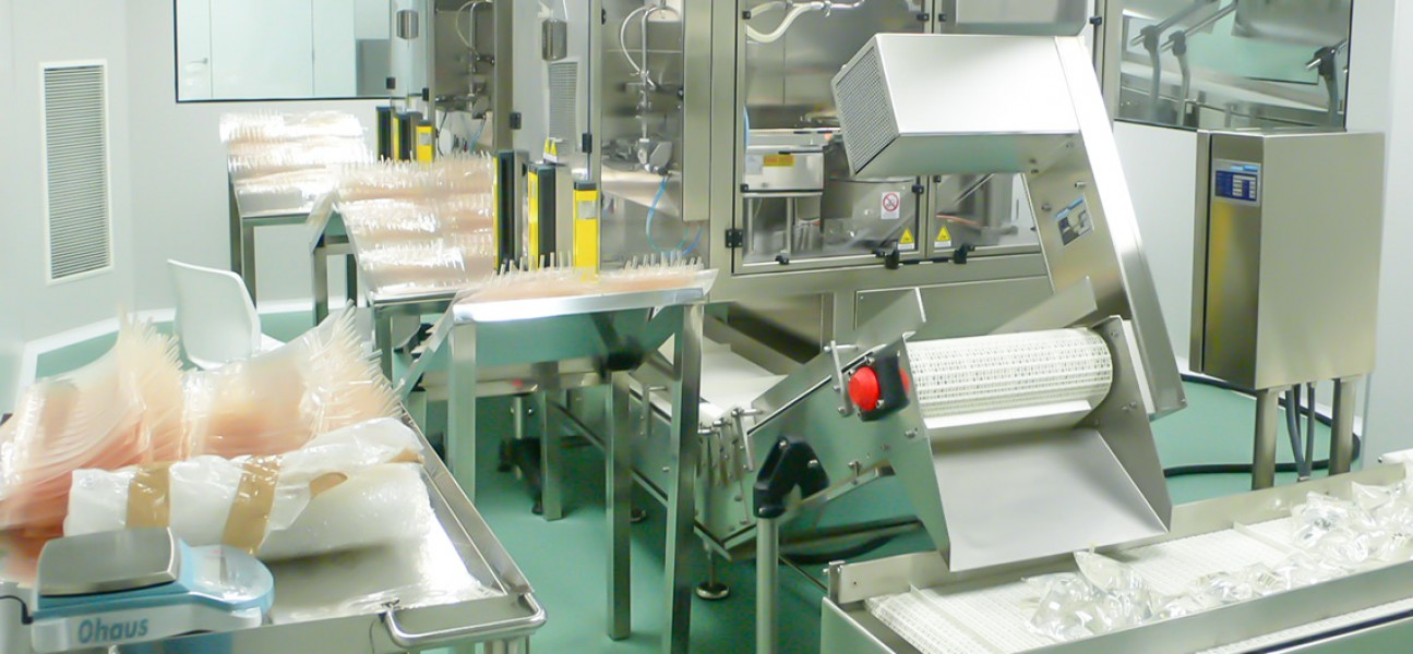 Bram-Cor Filling Systems - Pharmaceutical filling machines for bags - BFIL on site