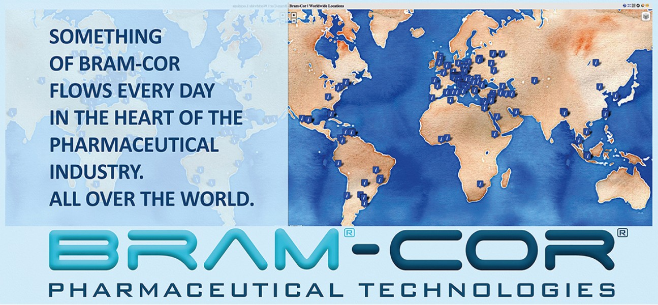 Bram-Cor Pharmaceutical Equipment - Worldwide locations advice