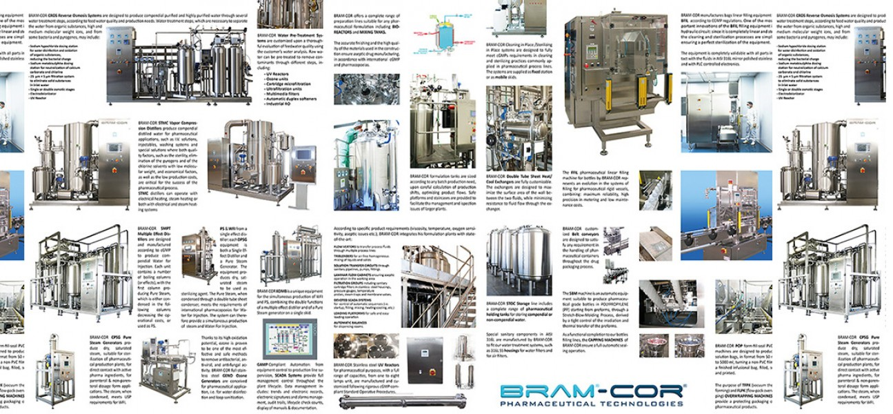 Bram-Cor Pharmaceutical Equipment - Water Treatment Processing and Filling overview