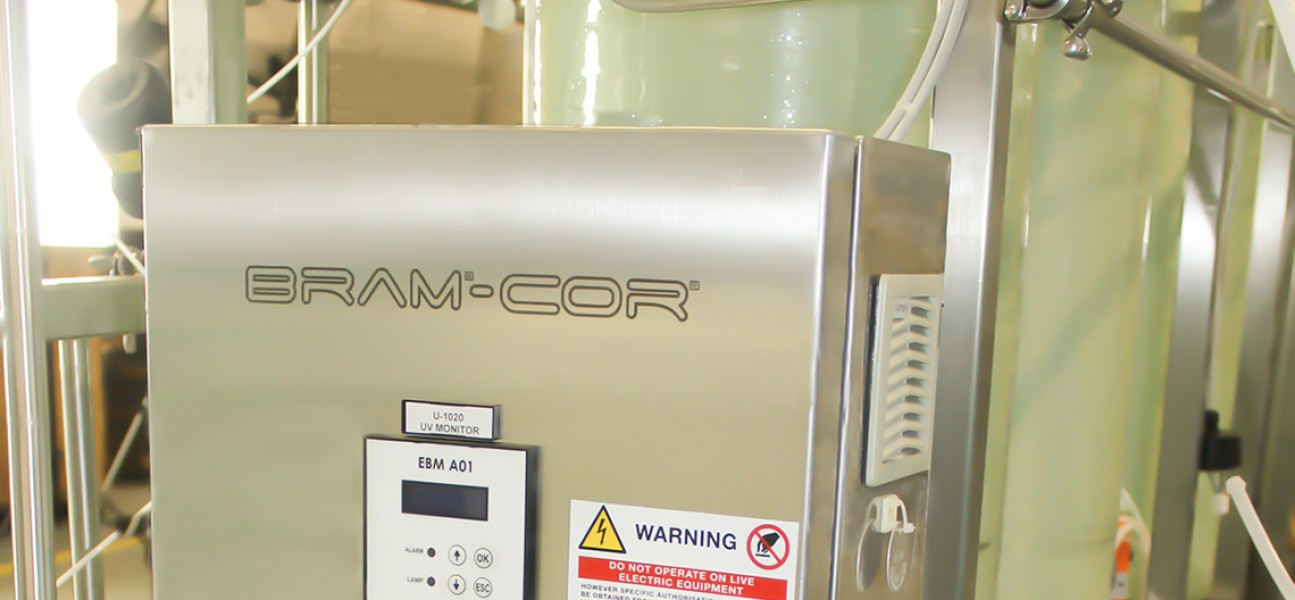 Bram-Cor Pharmaceutical Equipment - Water pretreatment system - UV reactor