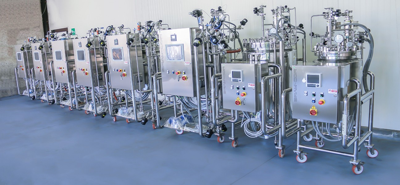 Bram-Cor Pharmaceutical Processing Systems - Formulation and preparation - mobile bioreactors