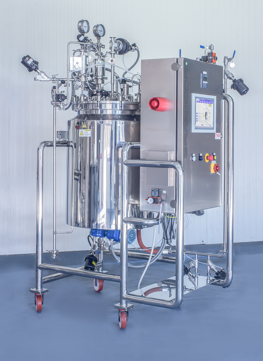 Bram-Cor Processing Systems - DISS WFTE 100 - Pharmaceutical Bioreactor